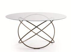 Round crystal living room table SFERA | Table - MOLTENI & C.