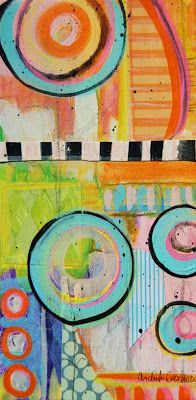 Ardith's Art Journal: Intuitive Painting Within A Framework by Ardith Goodwin by mixed media on canvas Art Journal Pages, Art Journaling, Art Journal Inspiration, Painting Inspiration, Style Inspiration, Contemporary Printmaking, Modern Art, Contemporary Art, Expressive Art
