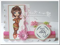 Feel The Hug!  Isn't she just gorgeous?! I love this one from Krista Smith! Smiles. For more deets visit my blog.xx