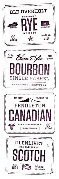 Whiskey Friends ‹ Jen Wick Studio in Stamp Web Design, Label Design, Print Design, Type Design, Studio Design, Package Design, Logo Branding, Branding Design, Logo Design