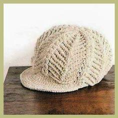 CARAMELO ARDIENTE es... LA PRINCESA DEL CROCHET: crochet beanie