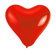 Herzluftballons 100 Stück als Hochzeitsdekoration