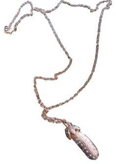 Golden Rhinestone Pea Pod Charm Nib Jewelry $12