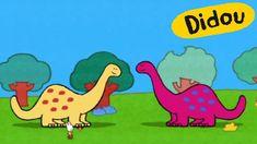 Dinosaure - Didou, dessine-moi un dinosaure |Dessins animés pour les enf...