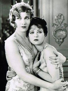 Esther Ralston & Clara Bow in Children of Divorce c.1927