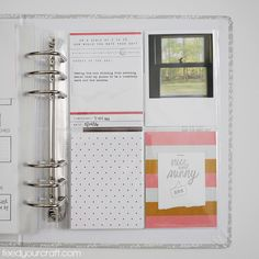 A cozy place of information & inspiration for all paper crafters, food makers, word lovers, DIY home decorators, and anyone else who loves to create! Project Life 6x8, Life 2016, All Paper, Cozy Place, The Life, Words, Crafts, Manualidades, Handmade Crafts