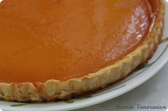 egg custard honey pie