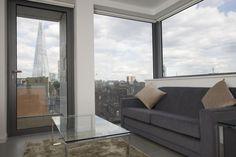 Living Room, London Bridge Serviced Apartments, Southwark, London