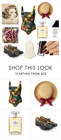 """old times"" by stylesbybeth ❤ liked on Polyvore featuring FAUSTO PUGLISI, Chanel, John Fluevog and Hollister Co."