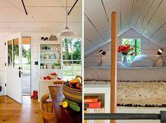 """""""Tiny House"""", un pequeño refugio integrado en el entorno"""