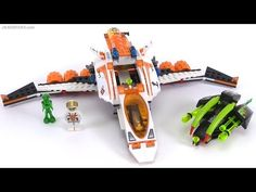 LEGO Mars Mission MX-41 Switch Fighter from 2008! set 7647 review - YouTube