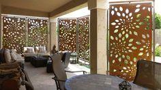 Contemporary Outdoor Patio Privacy Screens Ideas - Parchitectural ...