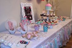 Owls and Cupcakes First Birthday