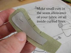 How to hand applique tutorial |