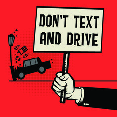 In honor of National Distracted Driving Awareness Month, share this post to help put an end to America's epidemic of distracted driving by not texting and driving! Road Safety Quotes, Road Safety Poster, Drive Safe Quotes, Safety Posters, Safety Rules, Texting While Driving, Driving Safety, Distracted Driving, Driving School