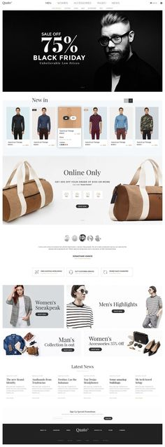 WordPress Ecommerce Themes #DESIGN