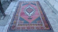 V-NTAGE-TURKISH-OUSHAK-RUG-98x57