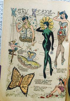 From Katy Keene Pin-up Parade #13 1960-61