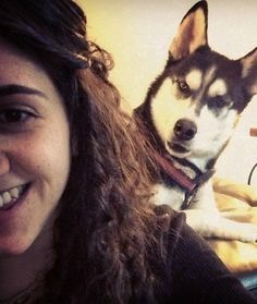 20 Animal Photobombs  What Up? Ridiculously good-looking Husky wants to know what you're up to.