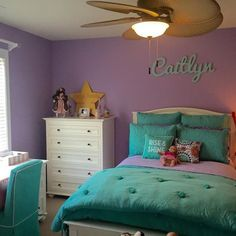 Simply lovely Teen Girl Bedrooms for mind boggling bedroom makeover, ref 1772789050 Preteen Girls Rooms, Preteen Bedroom, Teen Girl Bedrooms, Tween Girls Bedroom Ideas, Girls Bedroom Colors, Purple Bedrooms, Kids Rooms, Girl Bedroom Designs, Girls Room Design