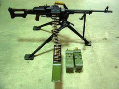 You're not bulletproof..., PKM… (This Russian general purpose machine gun has...