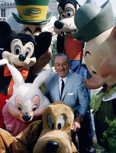 Walt ~ Surrounded by his friends