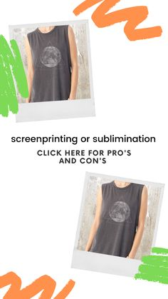 Two of the most popular methods for printing on polyester include screenprinting and sublimation printing. While both options can create a beautiful, finished garment – there are situations in which we'd suggest using one method over the other. To consider these, we've broken down the basic process of printing on polyester or poly blends for both techniques, and their pros and cons.