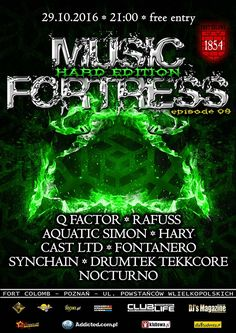 Music Fortress Hard Edition -  Fort Colomb 29.10.2016