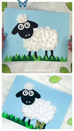 Easy Pom Pom Sheep Craft Pom Pom Sheep Craft For Kids   Preschool, kindergarten and elementary children will love making this cute sheep craft for spring or Easter. It's a fun art project kids can do at home or in the classroom.   #kidscrafts #craftsforkids #kidsactivity #kidsactivities #sheepcrafts #eastercrafts #eastercraftsforkids #preschool #preschoolers #preschoolcrafts #kindergarten #teachingkindergarten #elementary #ece #springcrafts #teaching #teacher #artforkids #kidsart<br> This… Bee Crafts For Kids, Mothers Day Crafts, Easter Crafts For Kids, Toddler Crafts, Preschool Crafts, Art For Kids, Easy Crafts, Arts And Crafts, Preschool Kindergarten