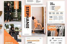 Influencer & Blogger Media Kit by Ashanti's House of Design on @creativemarket