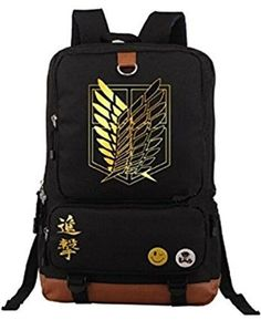 If you have someone in your life who is a huge anime fan, this list will help you find the perfect gift for any occasion. From Sailor Moon to Naruto, here are the best anime gifts! #anime #animegifts Rucksack Bag, Backpack Bags, Fashion Backpack, Animal Backpacks, Kids Backpacks, Blue Backpacks, College Backpacks, Canvas Backpacks, Titan Logo