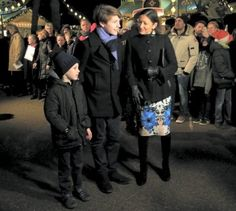 Danish Royal Family attend the premiere of The Nutcracker
