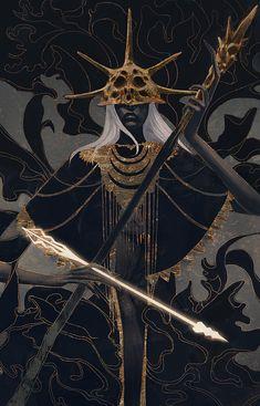 Aldrich, Devourer of Gods (Dark Souls) by Qissus