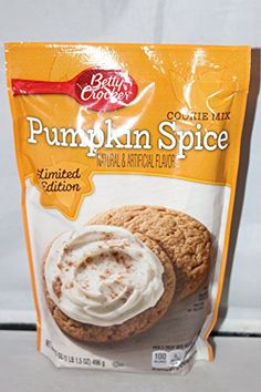 Betty Crocker Pumpkin Spice Cookie Mix 175 Oz Pack of 2 *** Want to know more, click on the image.