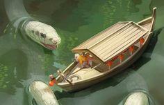 The Art Of Animation, Sarah Gavagan - . Environment Concept Art, Environment Design, Fantasy Creatures, Mythical Creatures, Image Form, My Favorite Image, Story Inspiration, Fantasy World, Fantasy Art