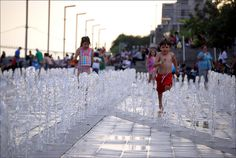 It won't be long until the #Detroit Riverfront fountains come to life!