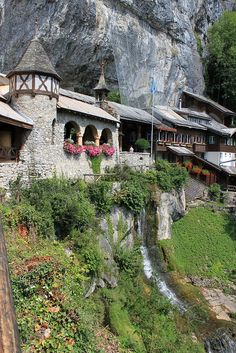 St. Beatus Caves, Interlaken, Switzerland