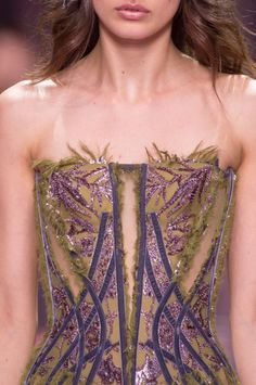 Details at Versace Couture F/W 2015