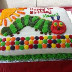 Very Hungry Caterpillar Birthday Party Ideas | Photo 8 of 23 | Catch My Party