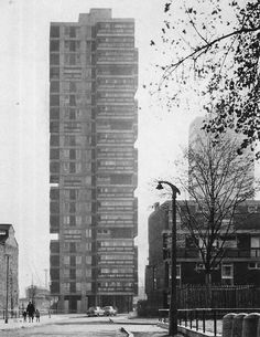 Canada Water Estate, Rotherhithe, London, 1964  (London County Council Architects' Department)  | fuckyeahbrutalism Tumblr