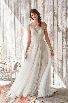 7f4d6fd68d1 Off the shoulder wedding dresses  offtheshouderweddingdress Lillian West  Wedding Gowns