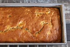 This Georgia style peach bread is delicious and easy to make. Top this peach bre… This Georgia style peach bread is delicious and easy to make. Top this peach bread with pecans for a rich and flavorful treat. Peach Quick Bread, Peach Bread, Peach Cake, Banana Bread, Banana Cakes, Pecan Desserts, Pecan Recipes, Dessert Recipes, Cake Recipes
