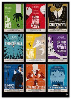 James Bond Fan Art (http://www.redbubble.com/people/alainb68/collections/170464-fan-arts-007)