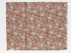 Furnishing fabric | Steiner & Co. | V&A. Furnishing fabric of printed cotton. Made in England, Great Britain. Designed in 1914. Manufacturer was Steiner & Co.