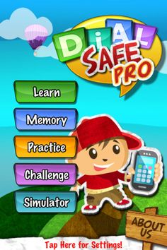 DialSafe Pro ($0.00) Teach your child proper phone usage and safety with an app that lets them actually practice it! DialSafe is designed to teach these critical skills in a kid friendly manner through the use of animated lessons, skill building games, practice sessions, and even a realistic phone simulator. DialSafe helps provide a comprehensive learning experience in a safe environment where the child can both explore and learn.    DialSafe is used by teachers, police officers, and parents.