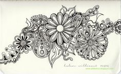A blog to share my drawings, tangle patterns, videos and tutorials