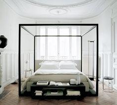 minimalistic bedroom via fashionsquad