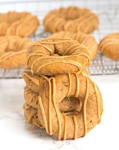 Want to make your pups a homemade treat? These Apple Peanut Butter Dognuts are perfect! You'll know every ingredient in your fur babies treats this way!