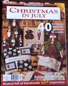 Christmas in July Handmade magazine vol.24 no.7 collector's edition #handmade