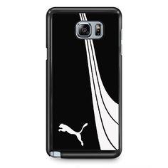 Puma Black White TATUM-8972 Samsung Phonecase Cover Samsung Galaxy Note 2 Note 3 Note 4 Note 5 Note Edge